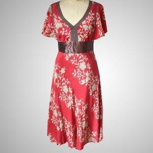 Like New Anthropologie Silk Dress